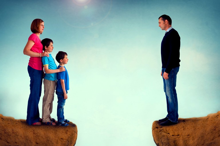 divorced families Teenagers in single-parent families and in blended families are three times more likely to need psychological children from divorced homes have more.